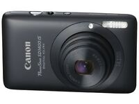 Canon IXUS 130 Digital Camera - Black (14.1 MP, 4x Optical Zoom) 2.7 Inch PureColor LCD
