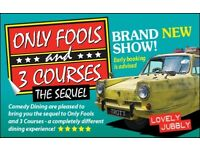 Only Fools and 3 Courses The Sequel Comedy Night with Dinner