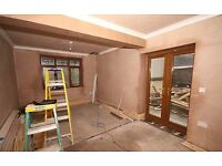 Plaster willing to travel no job to small
