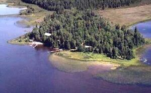 Fishing Resort - Secluded waterfront property with 8 cabins