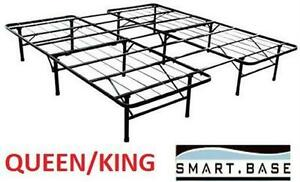 NEW SMARTBASE BED FRAME QUEEN/KING STEEL QUEEN OR KING BED FRAME 79312450