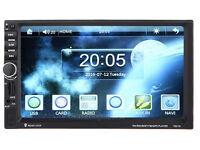 Car / Van 7 inch 2 din HD Touch Screen Sat nav / Radio MP3 Bluetooth unit with reverse Camera