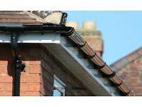 Guttering and drainage installation