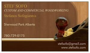 Custom woodworking--Finish-- Refacing-Remodeling Strathcona County Edmonton Area image 1