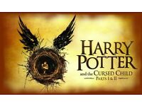 Harry Potter and the Cursed Child Part 1 & 2, FRONT ROW Seats x 2, Wed & Thu 23rd & 24th May 2018