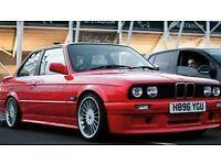1990 BMW 318i with M50 2.5l engine swap E30 325i