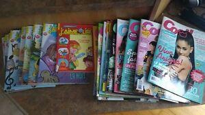 lot de revues Cool +  J'aime Lire