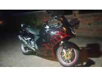 02 Honda CBR1100XX Super Blackbird, 30K on Engine, Ohlins, Racetek, Givi, Oxford, Scotoiler