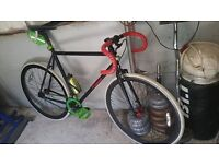 still for sale new single speed rd racing track bike for 5ft to 6,ft/2. person..