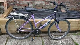 Womens Grant purple bike