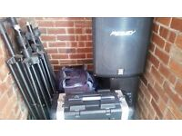 Complete PA equipment good condition Selling due to no longer been required