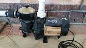 DAVEY XB200 pool pump. Great working order. Never skipped a beat. Seaton Charles Sturt Area Preview