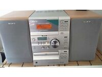 Sony music centre cd / tape / radio with remote control perfect condition