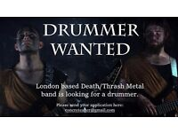 Melodic Death/Thrash metal band is looking for a drummer