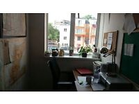 One person office