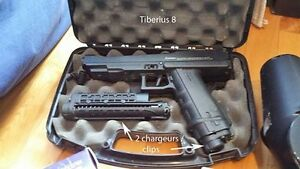 paintball TIBERIUS avec 2 chargeur