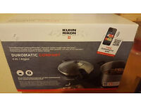Kuhn Rikon Duromatic Comfort Pressure Cooker, Bluetooth, Stainless Steel, 4 Litre 22 cm
