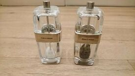 Cole & Mason Twist Salt & Pepper Pots