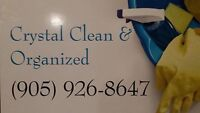 CRYSTAL CLEAN & ORGANIZED 30% OFF CHRISTMAS CLEAN