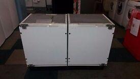 white baucknecht integrated freezer
