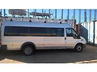 CREW CAB 8 SEATER EX MINI BUS/VAN