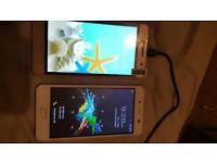 2 Mobile smart phones