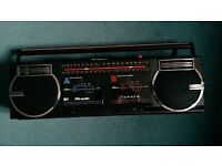 PYE dual deck Radio cassette recorder & talking book collect from Romford