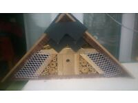 Homemade bee hotel / bug house,ideal present mothers day