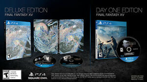 Final Fantasy XV 15 Deluxe Edition Sealed, Brand New - PS4