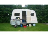 Rapido folding Caravan Retro 1983 very rare and collectable and very functionable PX Swap Caravan