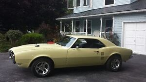1968 FIREBIRD NEVER WINTER DRIVEN 2ND OWNER FOR 40 YRS
