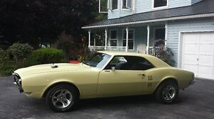 1968 FIREBIRD NEVER WINTER DRIVEN 2ND OWNER FOR 40 YEARS