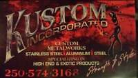 Kustom Inc. Welding and fabrication