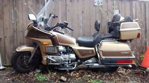 MUST SELL GOLDWING