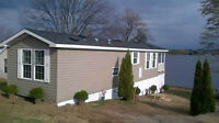 WATERFRONT - Mobile Home - New - 12 X 44 - 2 BEDROOM WITH PORCH
