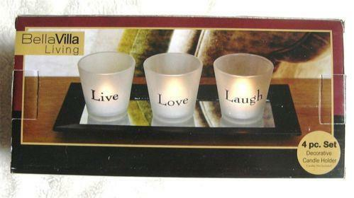 Live Laugh Love Candle