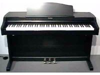 Digital piano Technics PX552 , fully weighted keys, lovely feel and great sound. £500