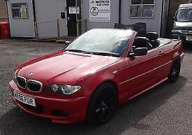 2006 (06) BME 325Ci M Sport Convertible Auto Red