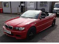 2006 (06) BME 325Ci M Sport Convertible Auto Red