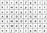 Magnetic Letters Upper Case