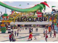 Legoland Tickets Saturday 23rd September