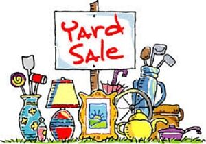 Yard Sale/Garage Sale - Rain or Shine- Sat Oct 1 and Sun Oct 2