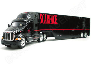 Scarface Movie Road Rigz Jada Toys Tractor Trailer Truck NEW fac