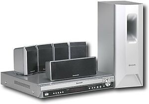 Panasonic SC-PT650 DVD Home Theater With speakers