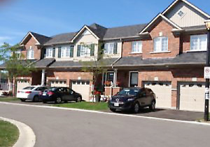 Executive Townhouse in North Oshawa, attached garage, Dec 1