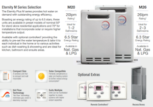 Factory 2nd Chromagen instant gas hot water units SAVE 60% on RRP