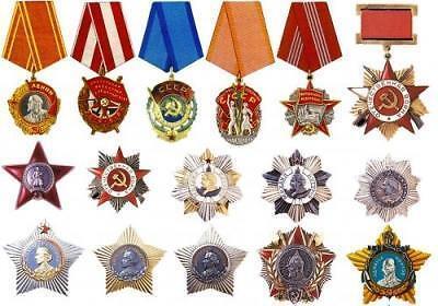 Soviet Order Medal