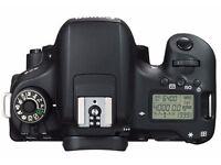Canon 760D EOS DSLR Excellent condition