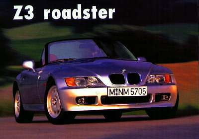 BMW Z3/Car Poster Re print/front/2804/roadster/Front