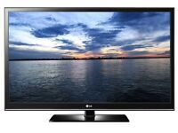 """50"""" LG Plasma TV with HD with Freeview Good Condition Can Deliver"""